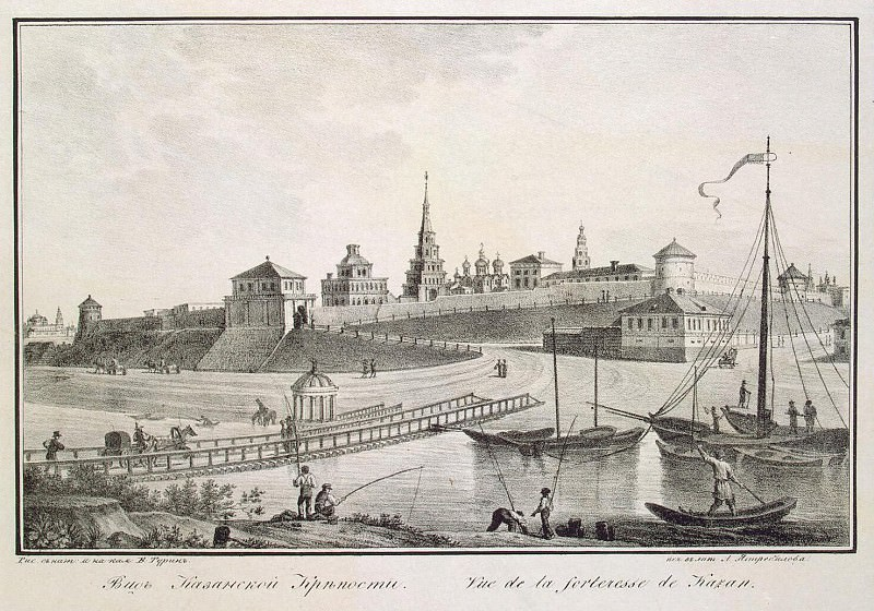 Turin Vasily Stepanovich. Kind of a fortress by the river Kazanka. Hermitage ~ part 12