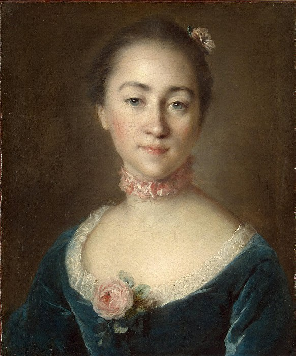 Tokko, Louis. Portrait of Countess EA Golovkina. Hermitage ~ part 12