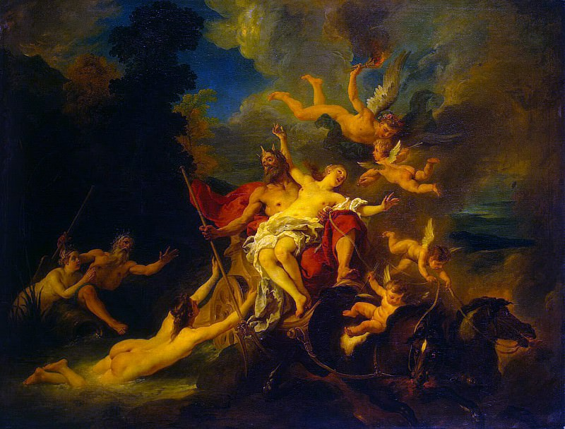 Troyes, Jean-François de. Rape of Proserpine. Hermitage ~ part 12