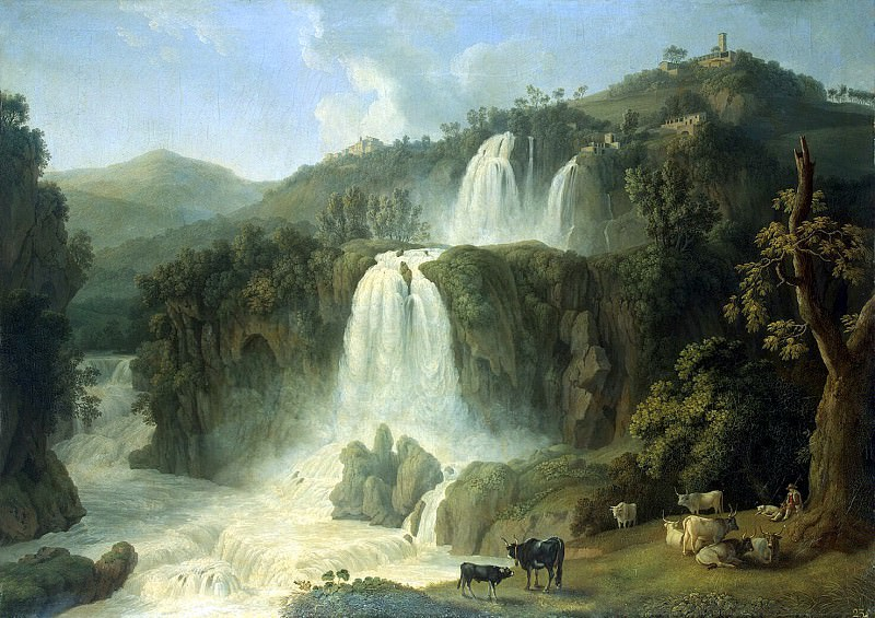 Hakkert, Jacob Philip. Grand Cascade at Tivoli. Hermitage ~ part 12