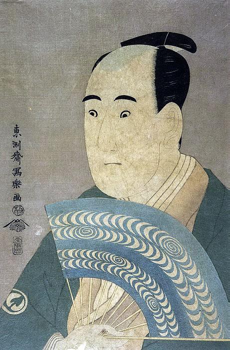 Tosyusay Syaraku. Actor Savamura Sodzyuro as Ogiso Kurando. Hermitage ~ part 12