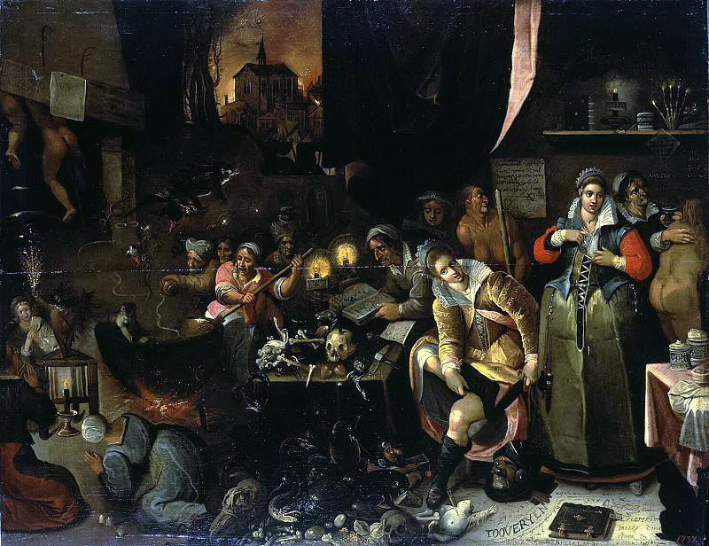 Franken, Frans II. Kitchen Witch. Hermitage ~ part 12