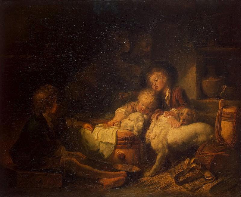 Fragonard, Jean Honore. Children farmer. Hermitage ~ part 12