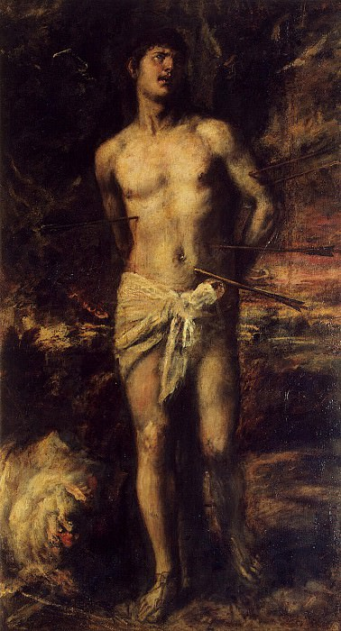 Titian. St. Sebastian. Hermitage ~ part 12