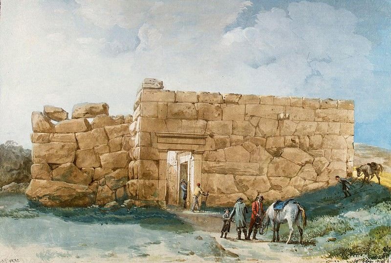 Uele, Jean-Pierre-Laurent. The ancient palace on the hill near Cefalù. Hermitage ~ part 12