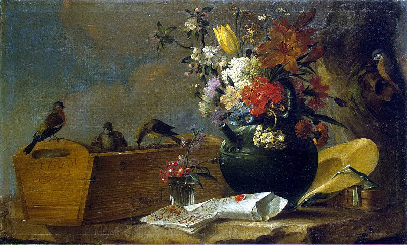 White, Charles. Flowers and birds. Hermitage ~ part 12