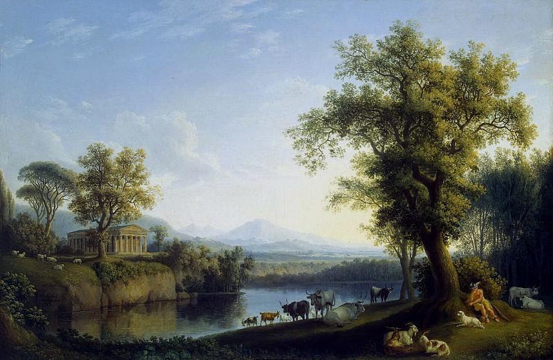 Hakkert, Jacob Philip. Landscape with a Herd. Hermitage ~ part 12