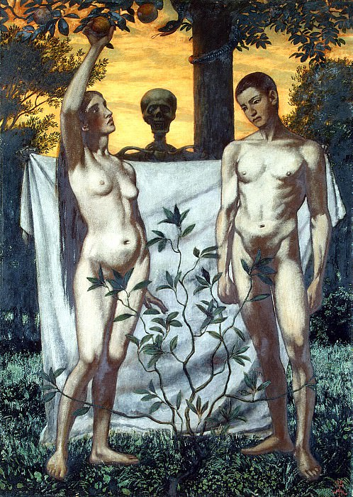 Thomas, Hans. Adam and Eve. Hermitage ~ part 12