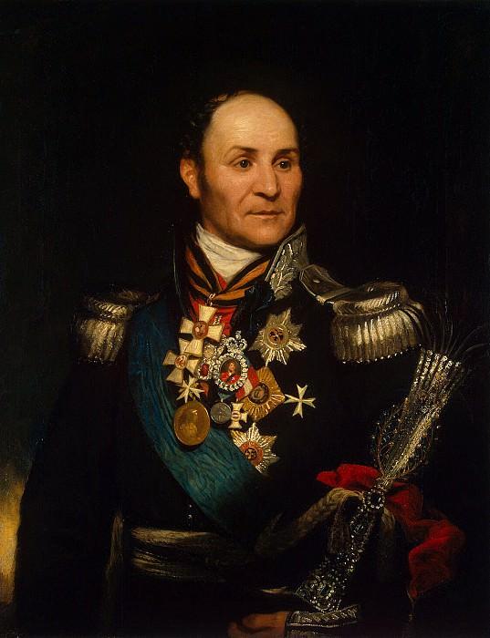 Phillips, Thomas. Portrait of Matvey Ivanovich Platov. Hermitage ~ part 12