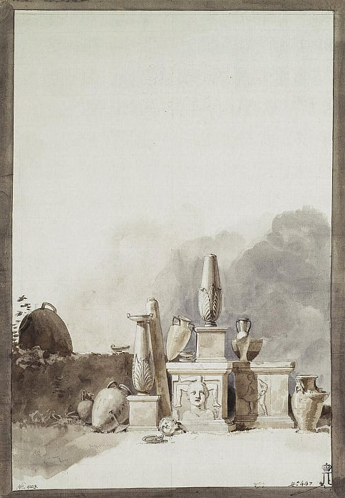 Uele, Jean-Pierre-Laurent. Objects of ancient art originating from the Public Library of Malta. Hermitage ~ part 12