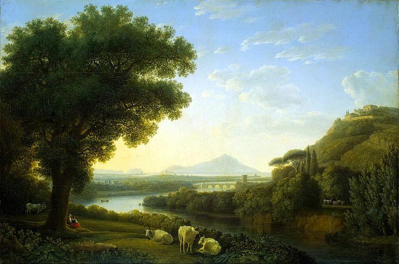 Hakkert, Jacob Philip. Italian landscape. Hermitage ~ part 12