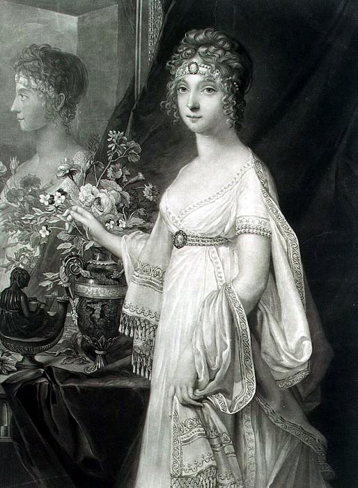 Turner, C.. Portrait of Elizabeth imperiatritsy Alexeyevna. Hermitage ~ part 12