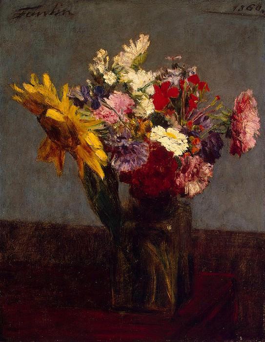Fantin-Latour, Henri. Bouquet. Hermitage ~ part 12