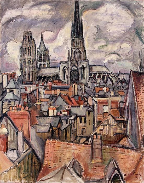 Фриез, Отон - Крыши и кафедральный собор в Руане. Эрмитаж ~ часть 12