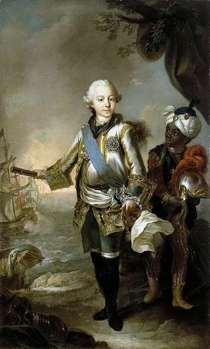 Torelli, Stefano. Portrait of Grand Duke Paul Petrovich. Hermitage ~ part 12