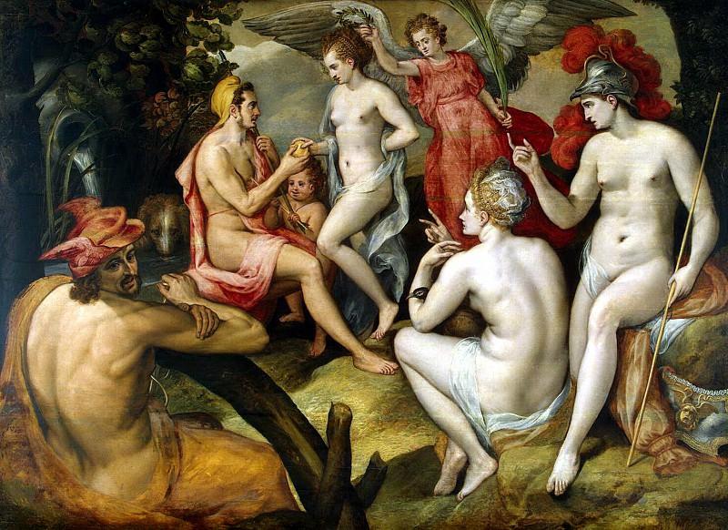 Floris, Frans. The Judgement of Paris. Hermitage ~ part 12
