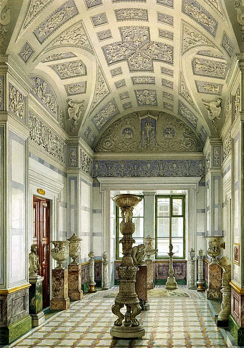 Ukhtomsky, Konstantin Andreevich. Types of rooms of the New Hermitage. Cabinet sculpture (2). Hermitage ~ part 12