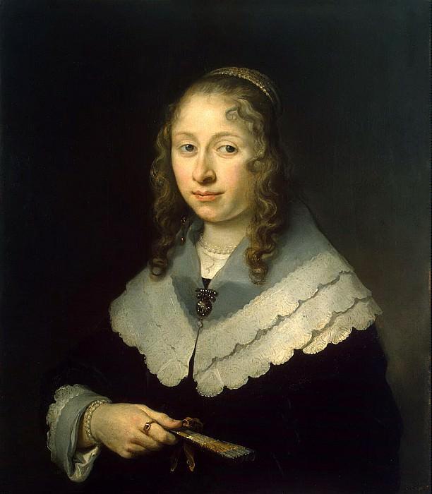 Flink, Govert. Portrait of a Woman. Hermitage ~ part 12
