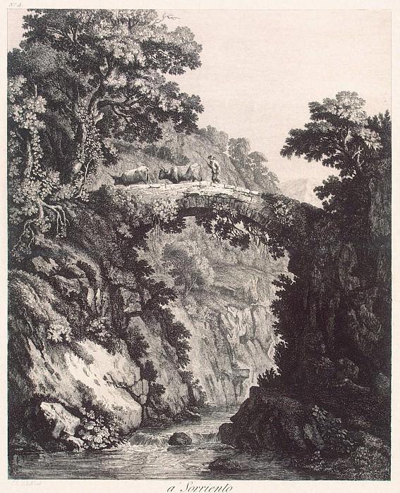 Hakkert, George Abraham. View near Sorrento. Hermitage ~ part 12
