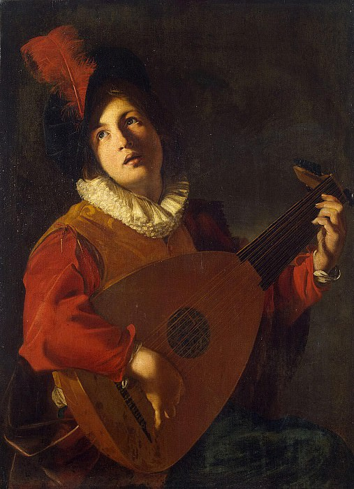 Tournier, Nicolas. Lute-Player. Hermitage ~ part 12
