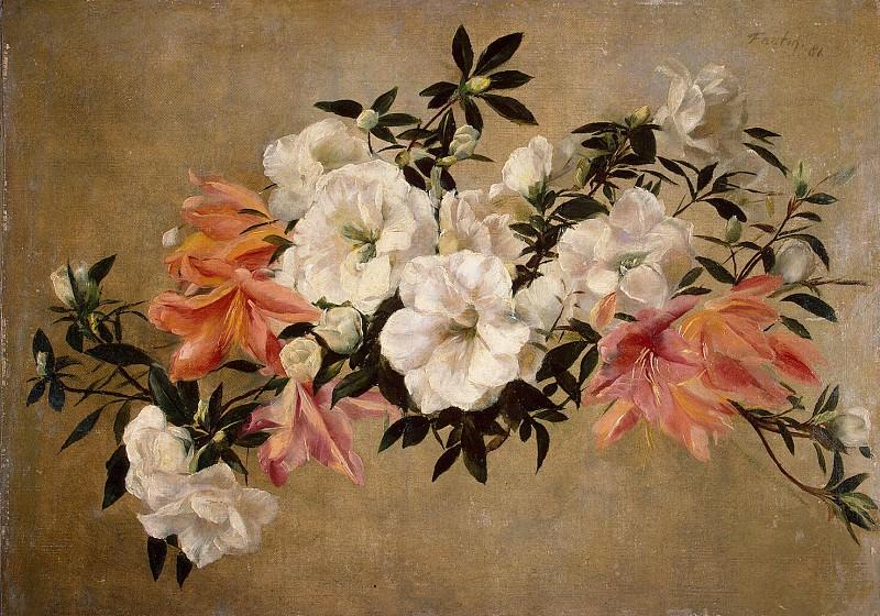Fantin-Latour, Henri. Petunia. Hermitage ~ part 12