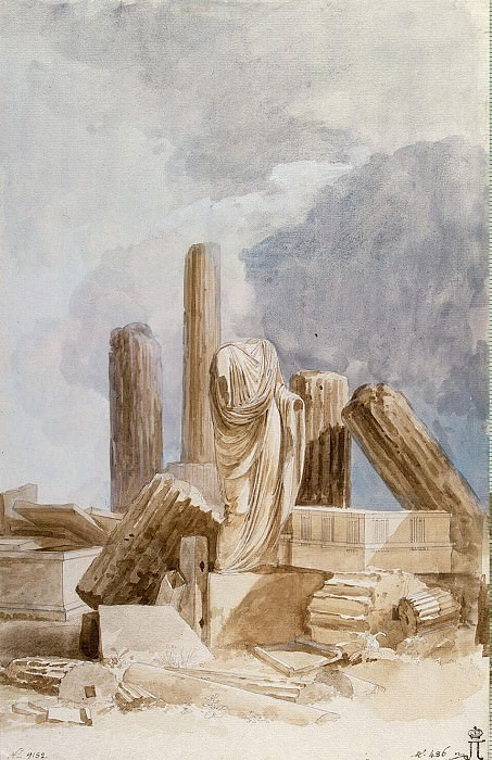 Uele, Jean-Pierre-Laurent. The sculpture and architectural fragments of marble, stone and lava, found on the island of Lipari. Hermitage ~ part 12
