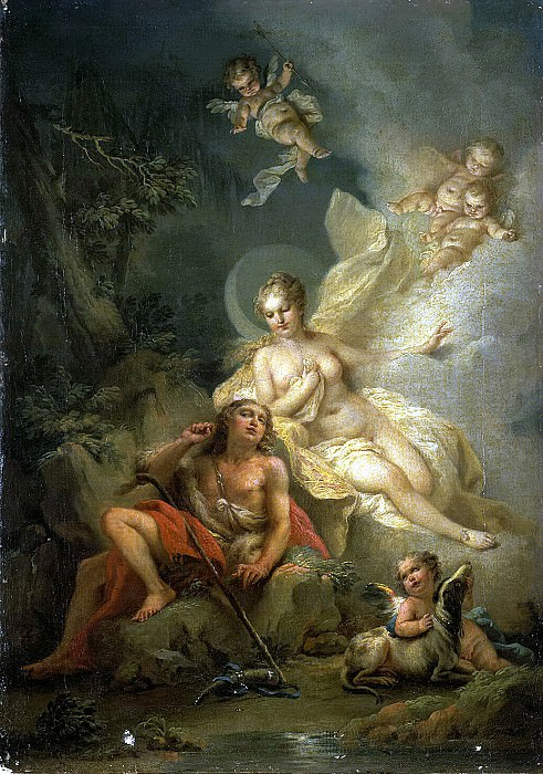 Torelli, Stefano. Diana and Endymion. Hermitage ~ part 12