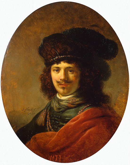 Flink, Govert. Portrait of a young man. Hermitage ~ part 12