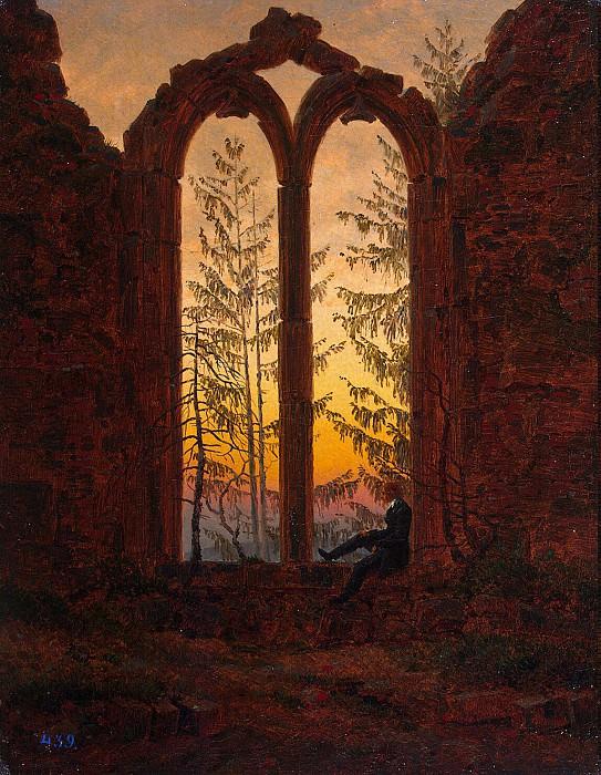 Фридрих, Каспар Давид - Руины монастыря Ойбин. Эрмитаж ~ часть 12