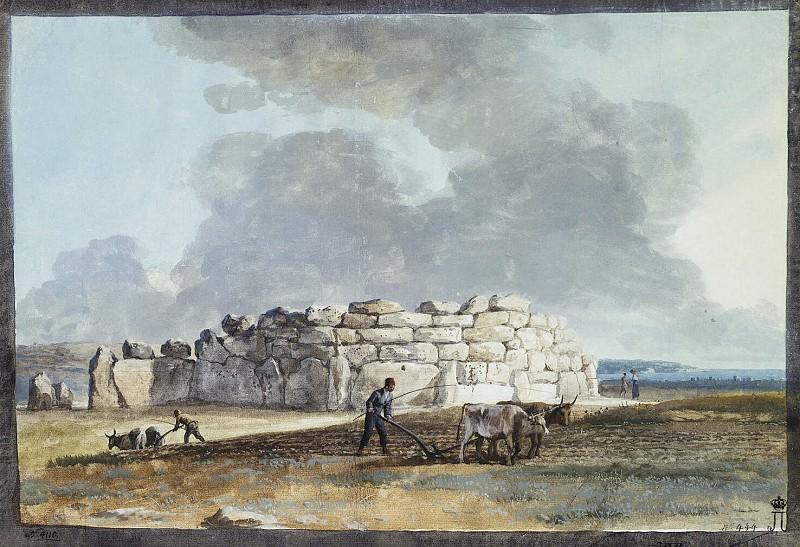 Uele, Jean-Pierre-Laurent. Ruins of Phoenician Temple in Casal Kachcha (3). Hermitage ~ part 12
