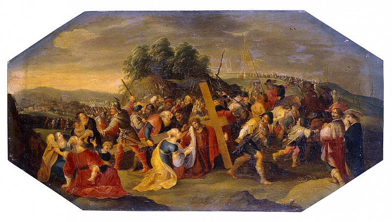 Francken, Hieronymus III. Carrying the Cross. Hermitage ~ part 12