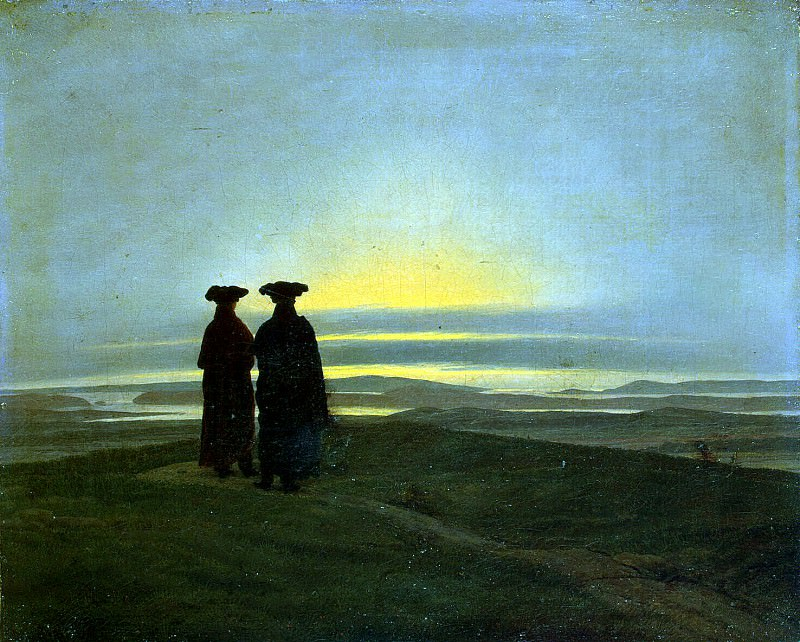 Friedrich, Caspar David. Sunset. Hermitage ~ part 12
