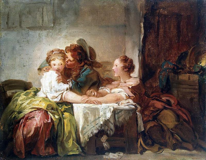 Fragonard, Jean Honore. Win Kiss. Hermitage ~ part 12