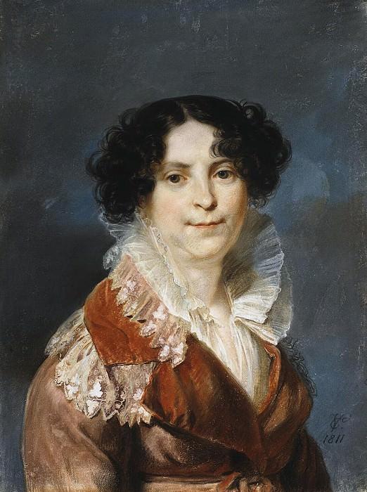 Vogel von Fogelshteyn, Carl Christian. Portrait of a Lady. Hermitage ~ part 12