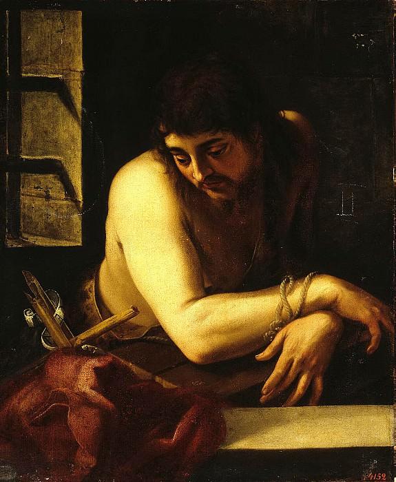 Fernandez de Navarrete, Juan. John the Baptist in prison. Hermitage ~ part 12
