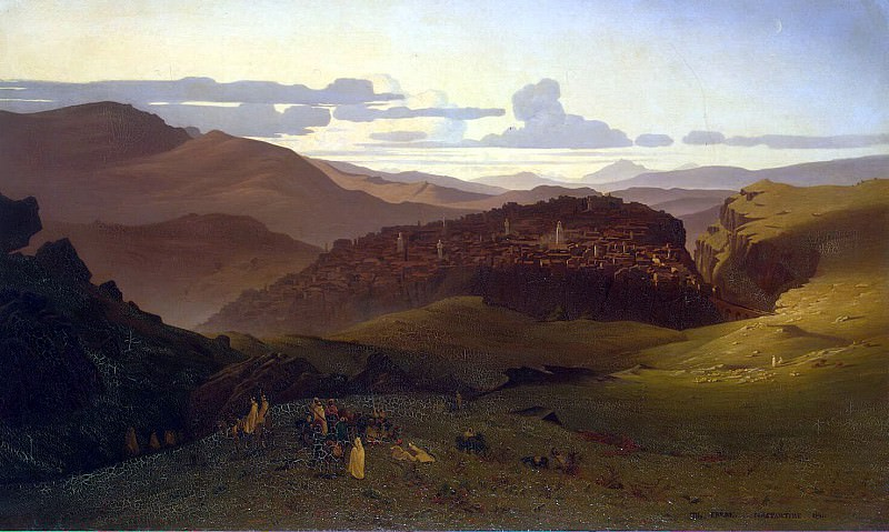 Frere, Charles Theodore. View of the city of Constantine. Hermitage ~ part 12