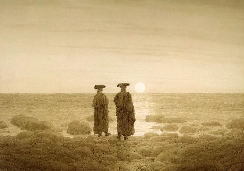 Friedrich, Caspar David. Moonrise. Hermitage ~ part 12
