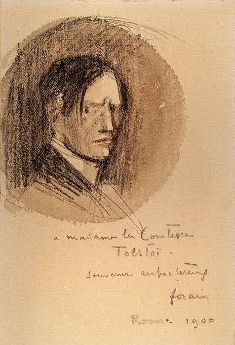 Fohren, Jean Louis. Self-portrait. Hermitage ~ part 12