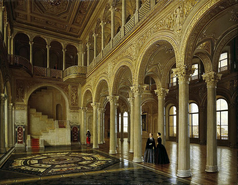 Tutukin, Peter V.. Types of rooms in the Winter Palace. Pavilion Hall. Hermitage ~ part 12
