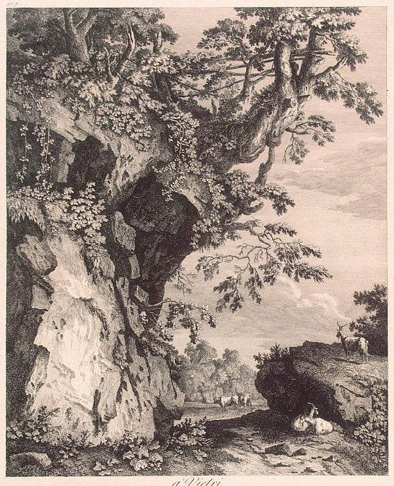 Hakkert, George Abraham. View near Vietri. Hermitage ~ part 12