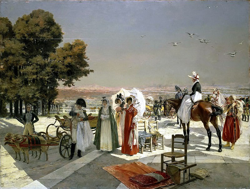 Flameng, Francois. Reception at Compiegne in 1810. Hermitage ~ part 12