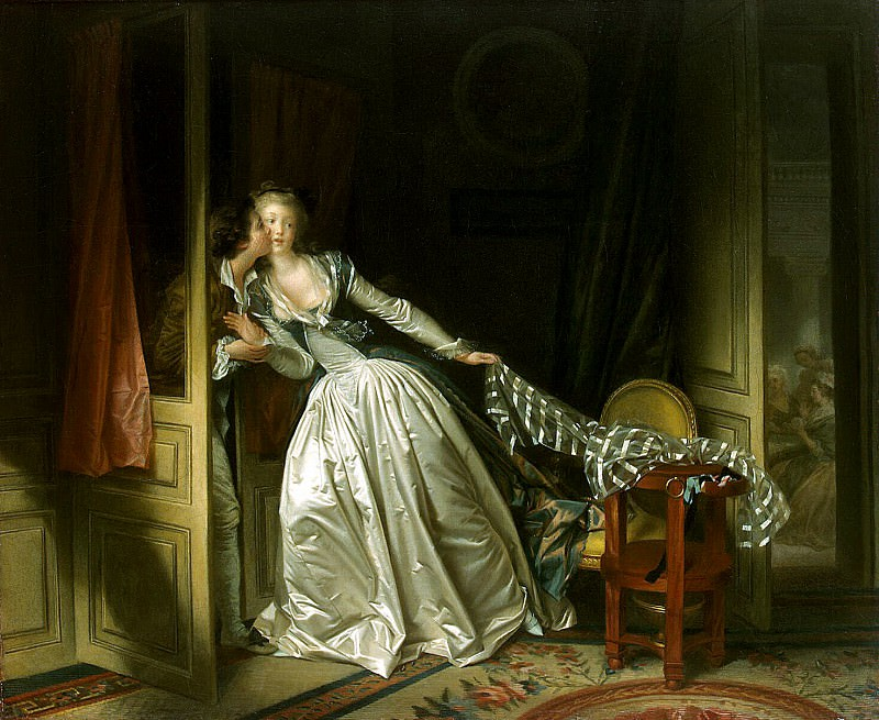 Fragonard, Jean Honore. Kiss stealth. Hermitage ~ part 12