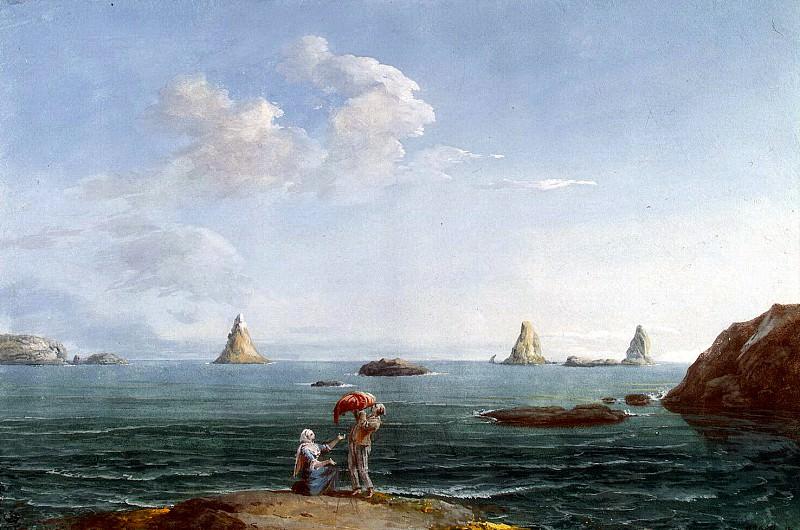 Uele, Jean-Pierre-Laurent. Islands of Cyclops in the Bay of La Tritstsa. Look. Hermitage ~ part 12