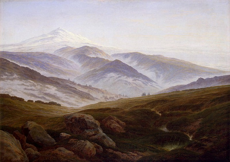 Friedrich, Caspar David. Giant Mountains. Hermitage ~ part 12