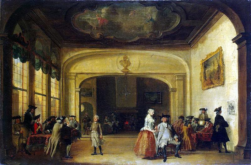 Trost, Cornelis. Hall coffee. Hermitage ~ part 12