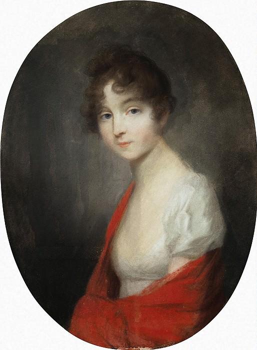 Tishbeyn, Johann Friedrich August. Portrait of a young lady. Hermitage ~ part 12
