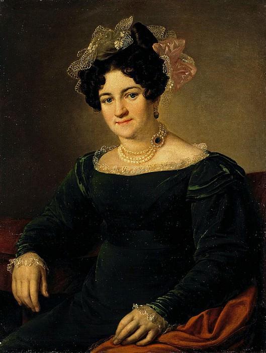 Tropinin, Vasili Andreevich. Portrait PI Sapozhnikova. Hermitage ~ part 12