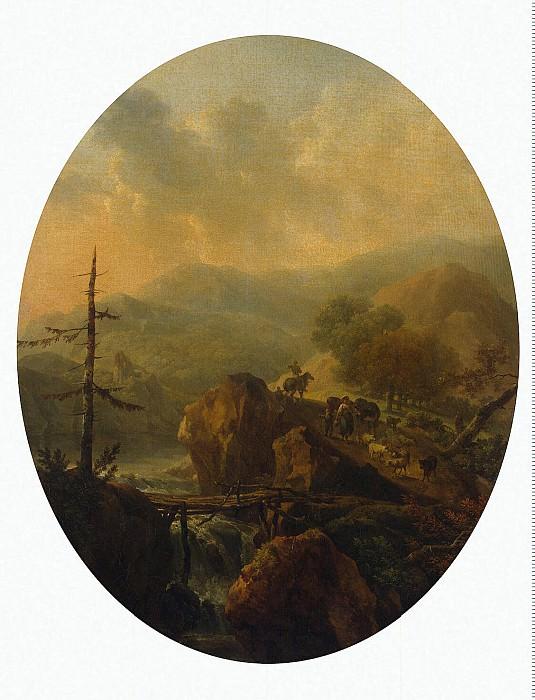Tonya, Nicola. Mountain landscape. Hermitage ~ part 12
