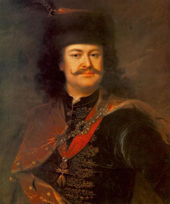 MANYOKI Adam Portrait of Prince Ferenc Rakoczi II. Венгерские художники