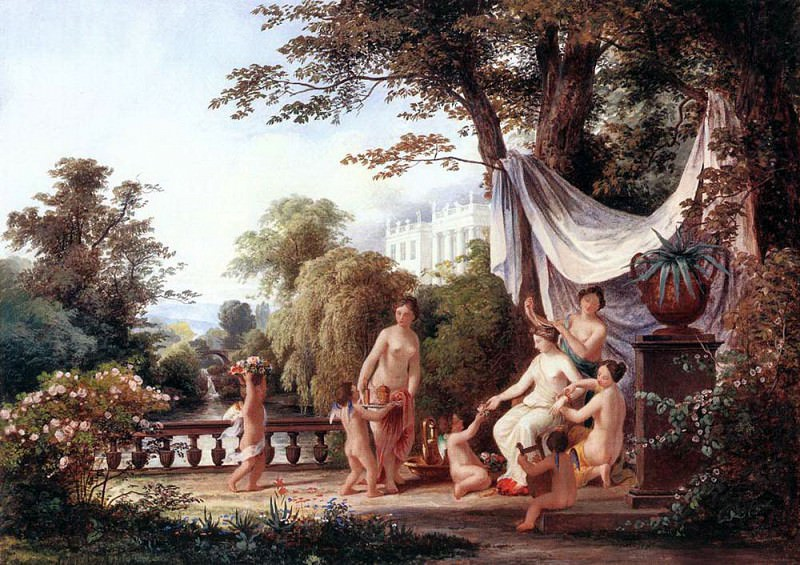 MARKO Karoly the Elder The Toilette Of Venus. Венгерские художники